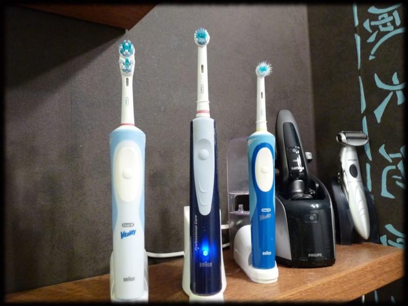 Trouver les meilleures brosses à dents électriques